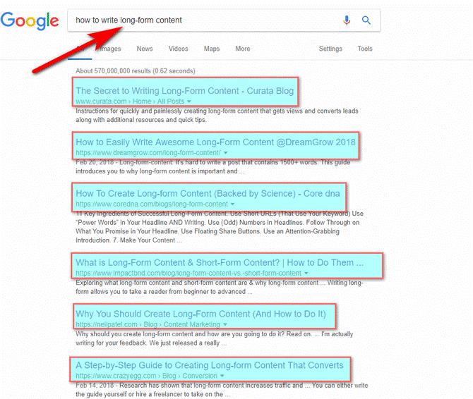 detailed informative keyword