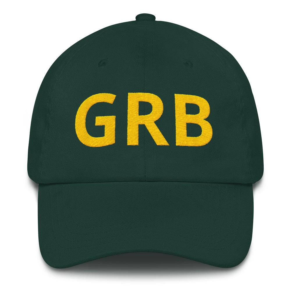GRB Green Bay Airport Code hat from panelhats.com
