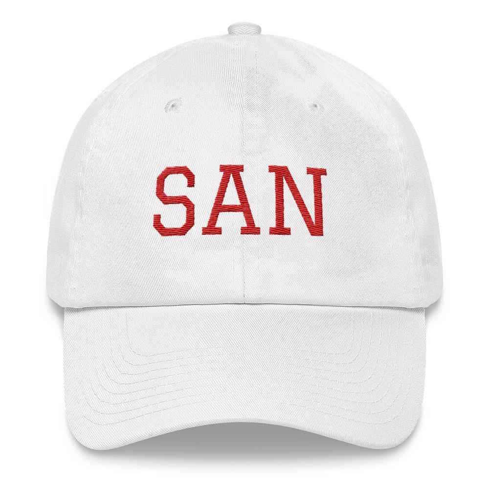 SAN Airport Code Hat from panelhats.com