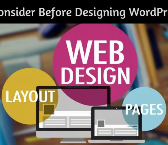 7 Things to Consider Before Designing WordPress Website
