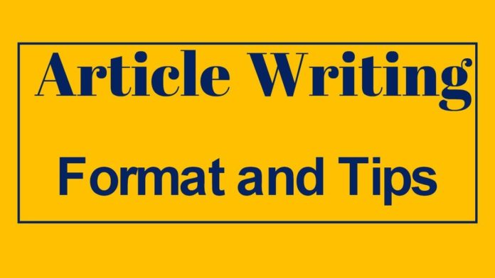 article format for guest post