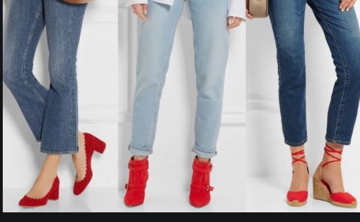 jean shoe