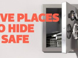 Best Places to Hide a Safe In Your Home