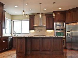 Walnut Kitchen Cabinets Making